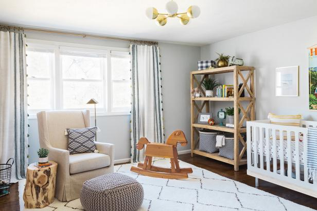 Nursery With Rocking Horse
