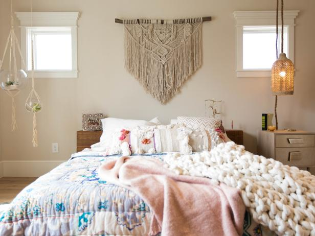 Bohemian Bedroom is Full of Texture