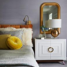 Cozy, Eclectic Master Bedroom