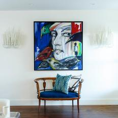Focal Art for Renovated Dining Room