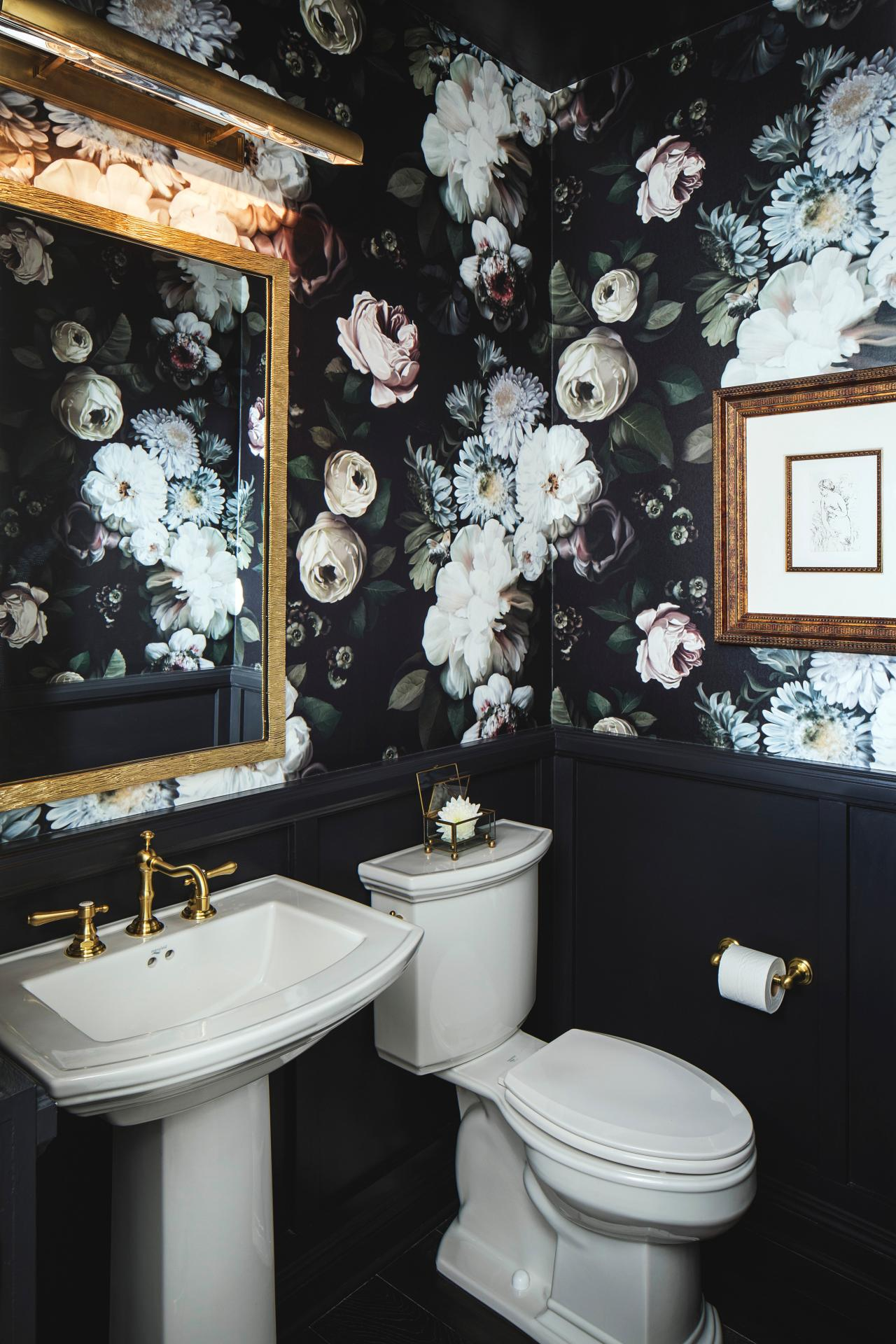 10 Gorgeous Powder Room Design Ideas Hgtv