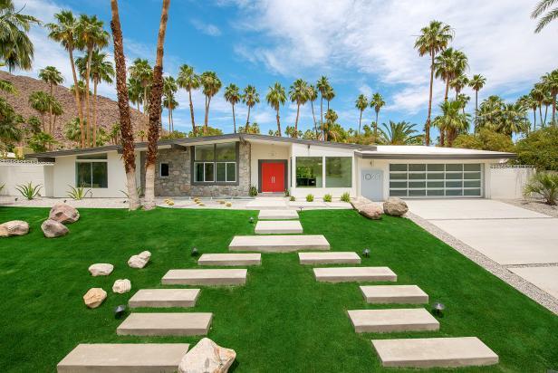 palm springs midcentury modern ranch home 2017 faces of design hgtv. Black Bedroom Furniture Sets. Home Design Ideas