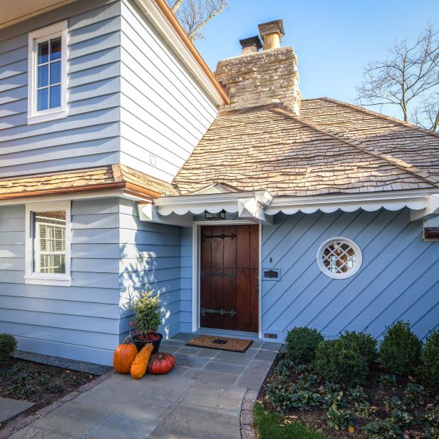 Home's Original Charm Highlighted with Dutch Door