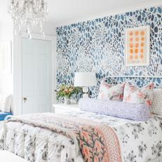 Mix of Color, Texture and Style Creates a Unique Girl's Room