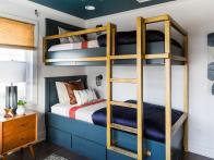 A Modern Bunk Bed Upgrade Inspired by <em>Brother vs. Brother</em>