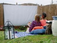 Everything You Need to Host an Outdoor Movie Party