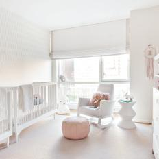 Roman Shade Controls Light In Twin S Nursery