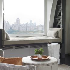 Hanging Daybed With Views of Central Park