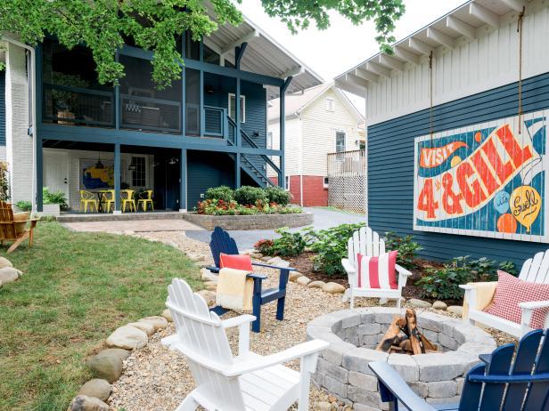Backyard Transformations, Projects and Ideas | HGTV on Hgtv Backyard Ideas id=78781