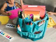 Genius Dollar Store Hacks to Wrangle School Supplies