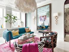 Eclectic Living Room Full of Style