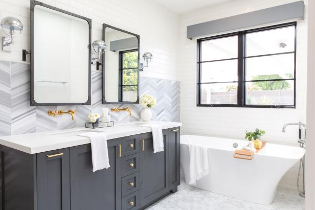15 Cheap Ways To Freshen Up Your Bathroom This Weekend Hgtv