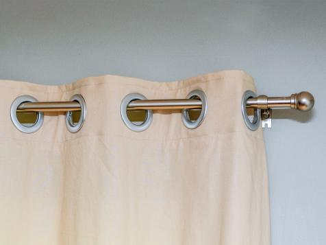 DIY Style: How to Make Grommet Curtains