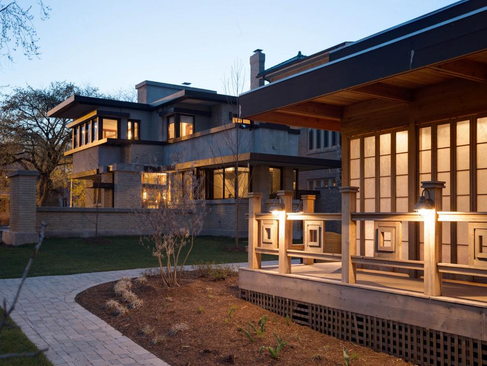 Fall for these 10 stylish frank lloyd wright stays hgtv - Frank lloyd wright designs ...