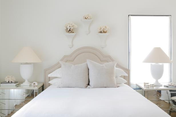 Sophisticated White Bedroom