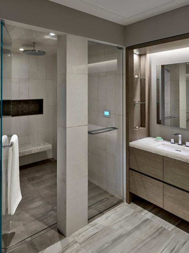 Luxurious Walk In Showers Hgtv