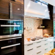 Contemporary Chef Kitchen With Miele Oven