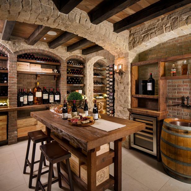 Wine Cellar Barrels Stock Photo 84971272 - Shutterstock  Barrel Wine Cellar