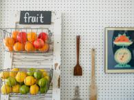 Goodbye Fruit Bowls, Hello DIY Produce Baskets