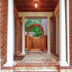 Personalized Gate Brings Warm, Welcoming Feel to Backyard Design