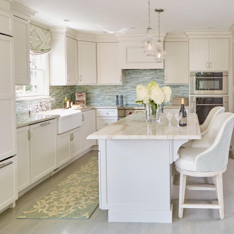 Repainting Kitchen Cabinets Pictures Ideas From Hgtv: Painted Kitchen Chairs: Pictures, Ideas & Tips From HGTV