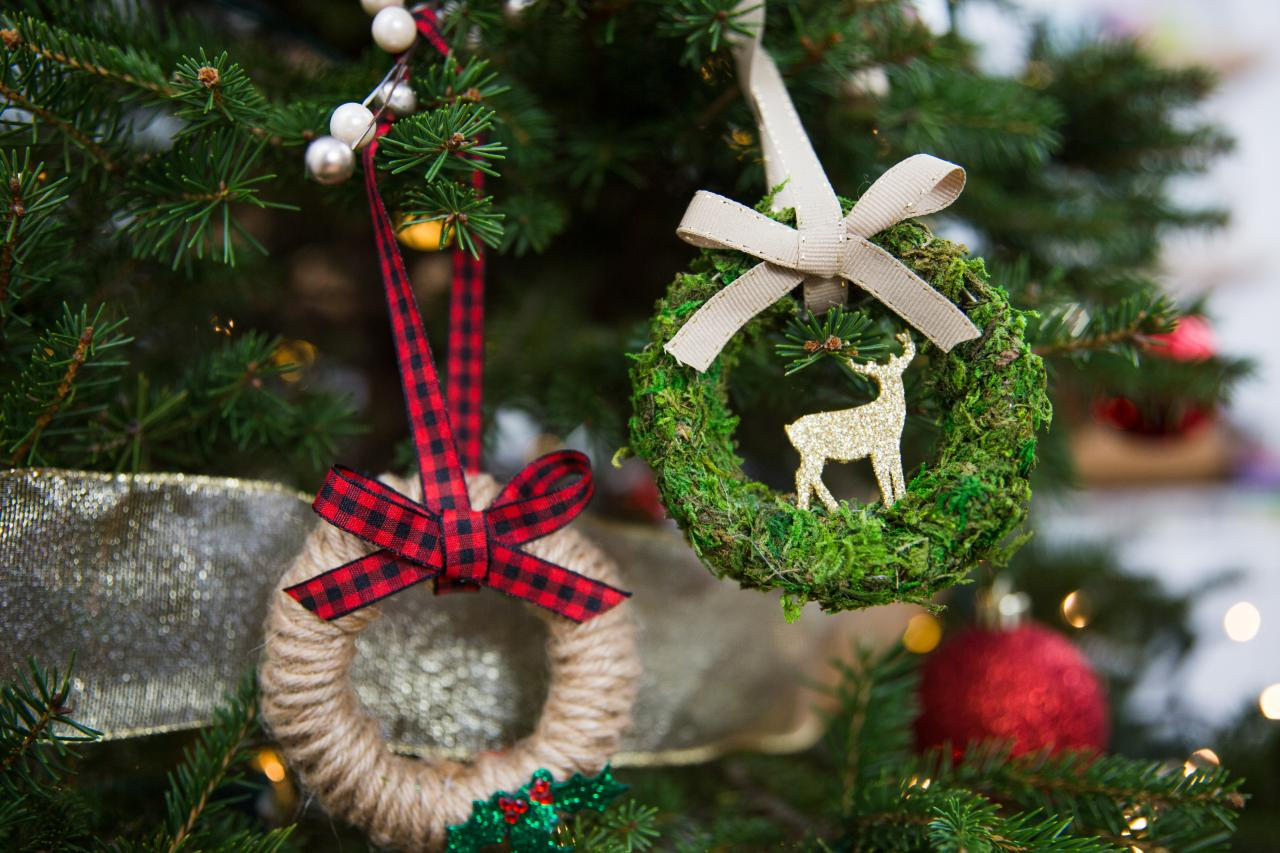 5 Upcycled Christmas Tree Ornaments Hgtv