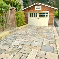 Driveway Inspired By Ancient Asian Path