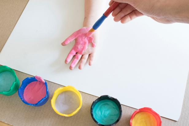 How to Make Your Own DIY Thick Finger Paints
