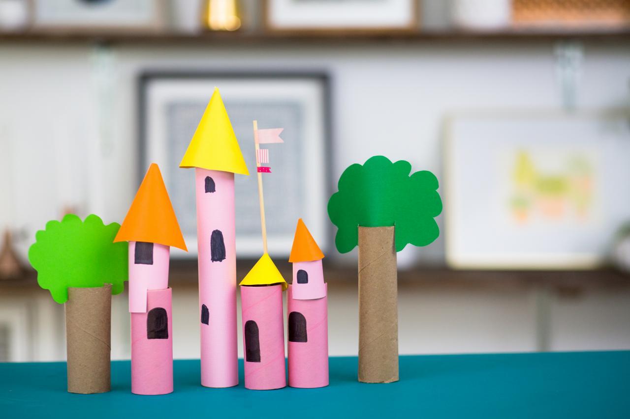 5 Kids Crafts Using Paper Towel Rolls Hgtv