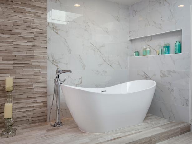 Master Bathroom Wet Room with Freestanding Tub | HGTV on Wet Room With Freestanding Tub  id=45805