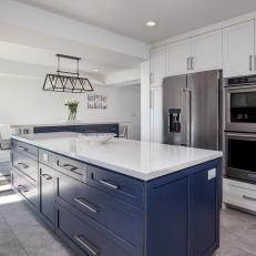 Blue Island Increases Kitchen's Functionality