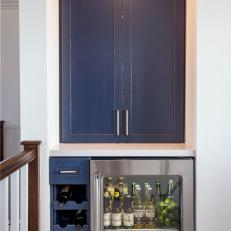 Bar Nook in Transitional Kitchen