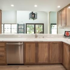 Open Concept Transitional Kitchen