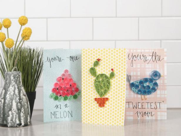 How To Make Punny Paper Quilling Cards For Mother S Day Hgtv