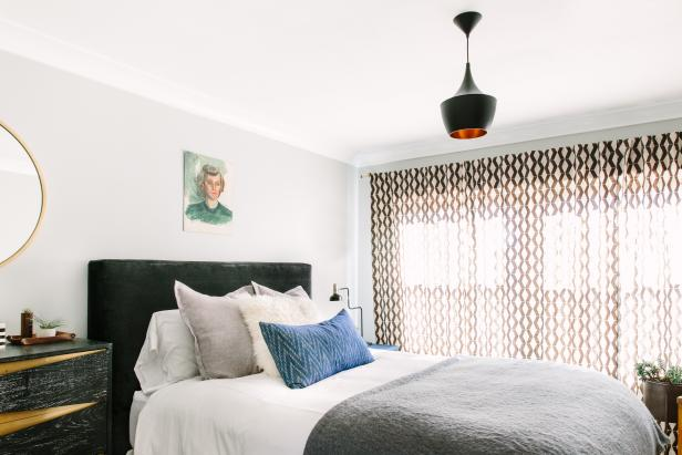 Eclectic White Bedroom
