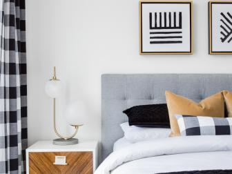 Midcentury-Modern Style Gives Bedroom Character