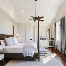 photos hgtvwhite transitional bedroom has high ceiling