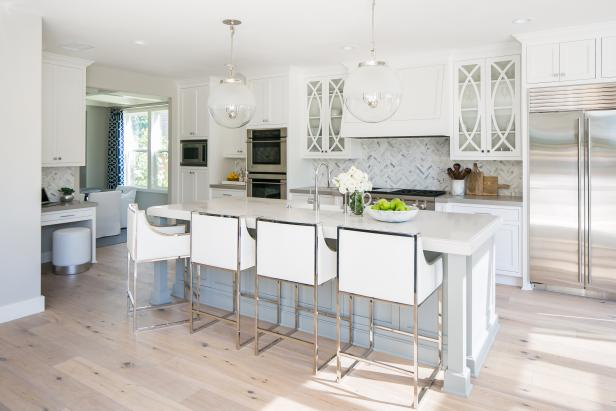 Timeless Transitional White Kitchen
