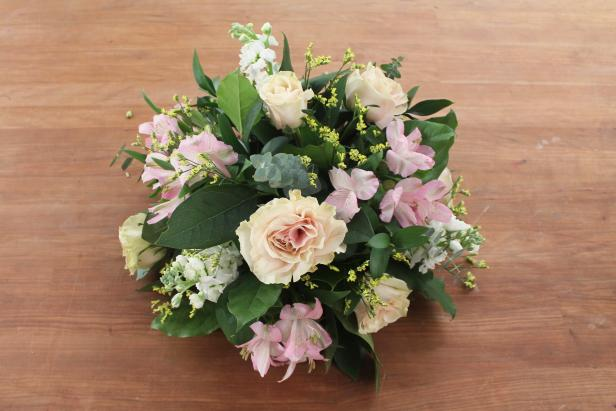 DIY Floral Foam Arrangement: Fill Holes