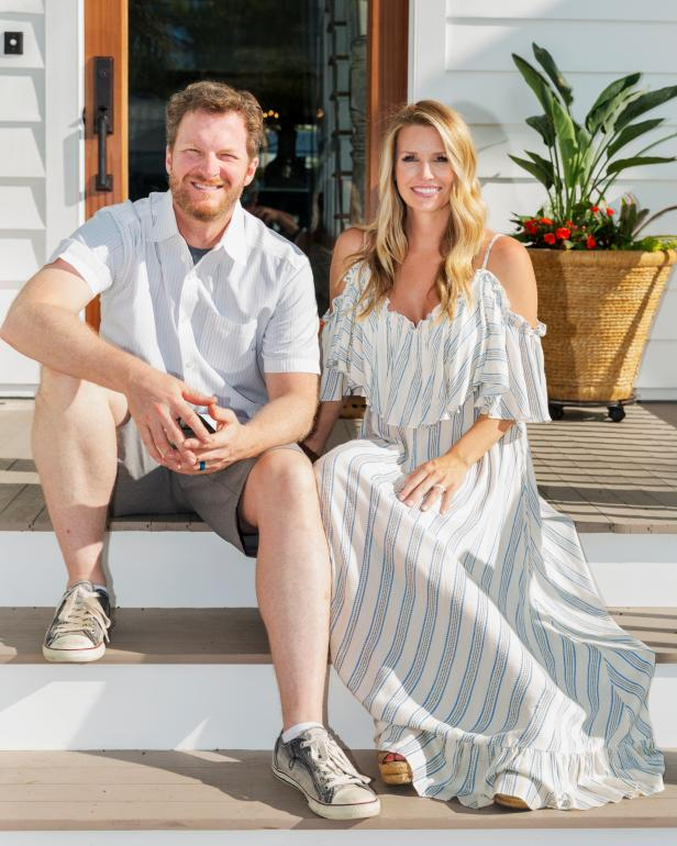new renovation series starring dale earnhardt jr and wife amy is
