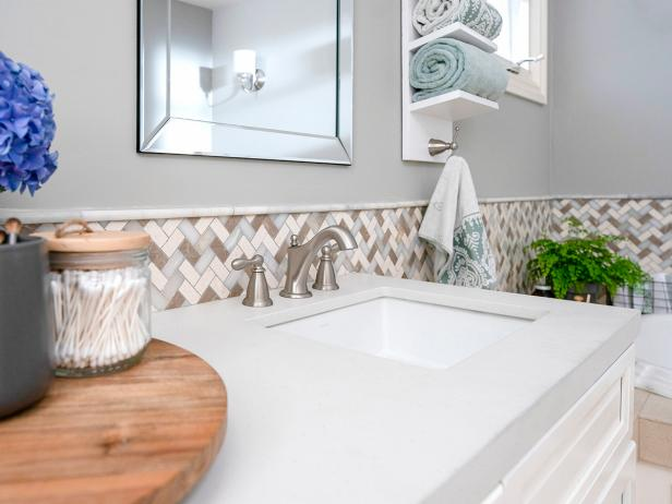 Bathroom Tile How Tos Diy Ideas Diy