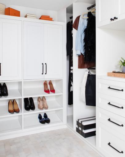 Small Closet Organization And Storage Ideas How To Organize A Small Closet Hgtv