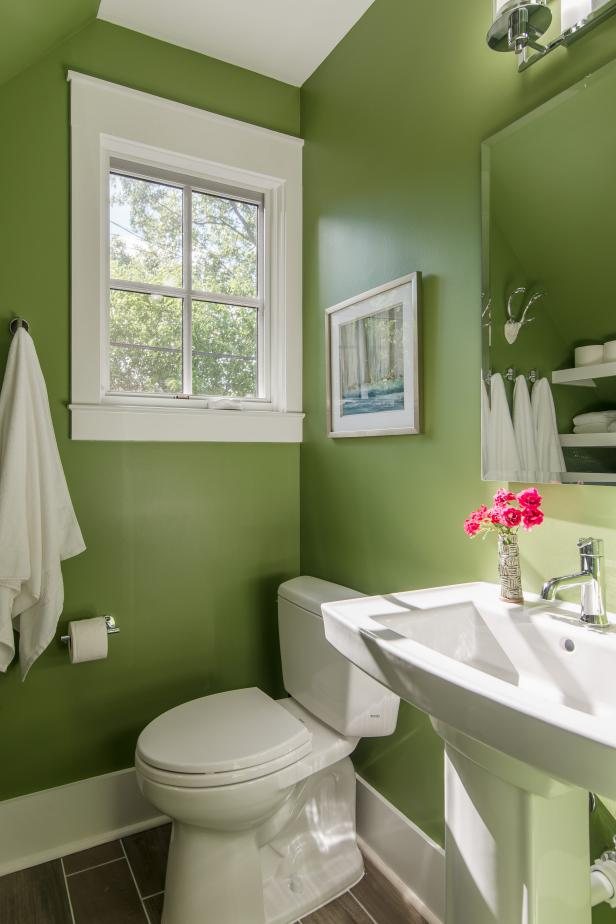 Small bathroom design decorating tips hgtv - Small full bathroom remodel ideas ...