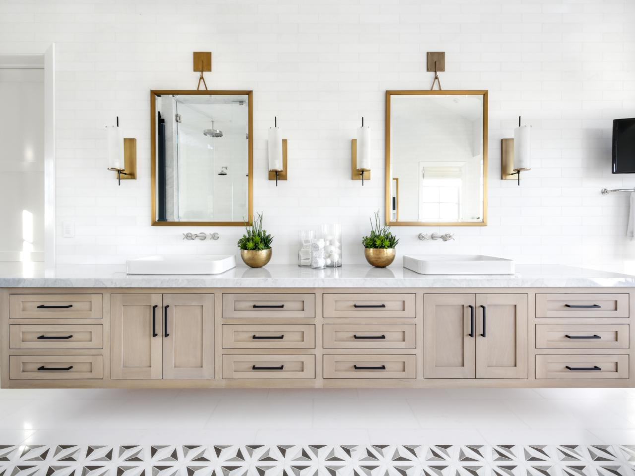 Best Bathroom Vanities And Bathroom Mirrors In 2020 Hgtv