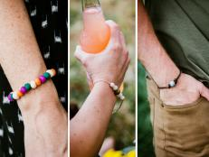 Do mosquitoes find you any time you're in the great outdoors? Make your own citronella-absorbent bracelets to repel those pesky critters in style.