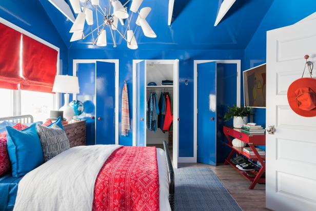 Decorating With the Colors Red, White & Blue | HGTV