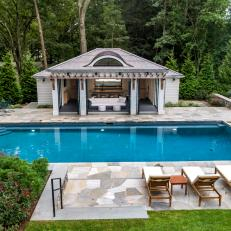 Pool, Patio and Poolhouse Overview
