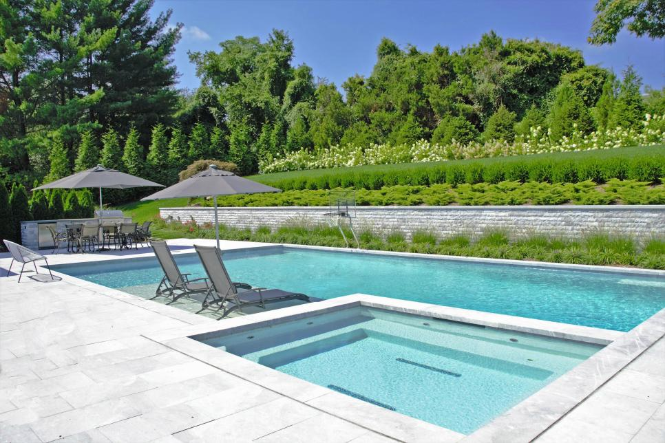 Swimming Pool Landscaping Ideas Hgtv