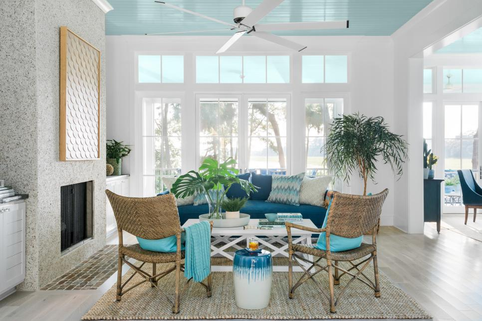 Image result for hgtv dream home turquoise ceiling