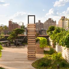New York City Rooftop Garden